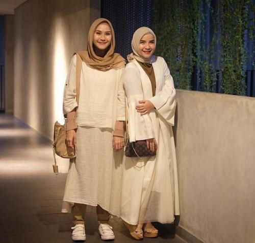 Zaskia Adya Mecca & Tasya Nur Medina