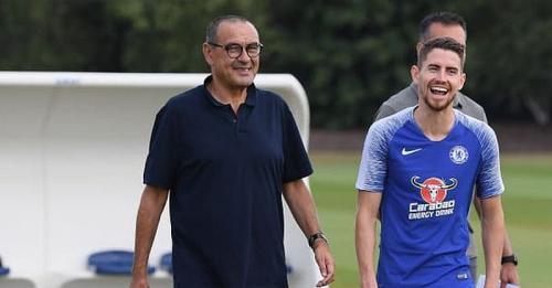 Maurizio Sarri dan Jorginho