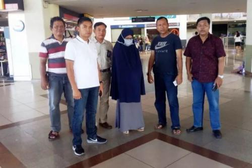 Polwan Asal Maluku Utara yang diamankan petugas karena Diduga Terpapar Radikalisme (Ist)