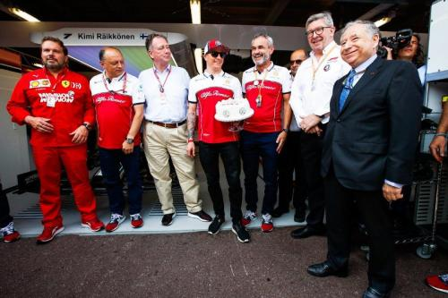 Kimi Raikkonen (Foto: Alfa Romeo Racing/Twitter)
