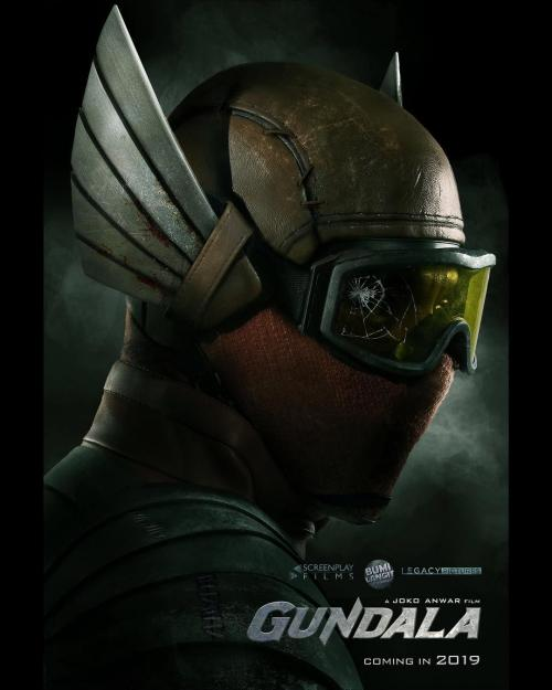 Poster film Gundala. (Foto: Screenplay Film)