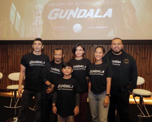 Pemain film Gundala