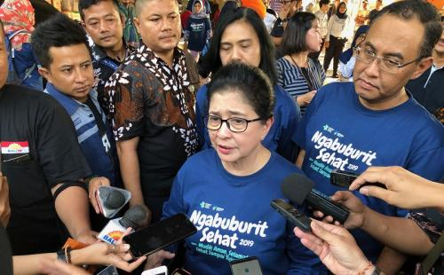 Nila mengatakan, kesehatan menjadi hal utama yang harus diperhatikan oleh masyarakat Indonesia