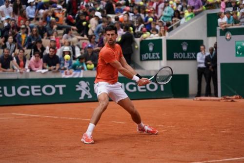 Novak Djokovic (Foto: Twitter/Rolland Garos)