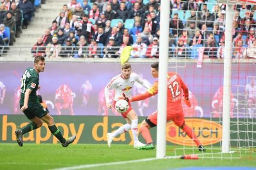 Ketajaman Timo Werner bakal menarik minat klub-klub top Eropa (Foto: RB Leipzig)