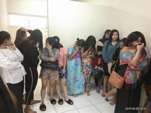 19 perempuan muda diamankan diduga terlibat prostitusi online