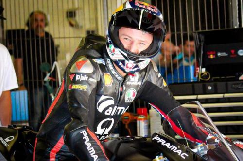 Jack Miller menjajal motor Superbike Ducati