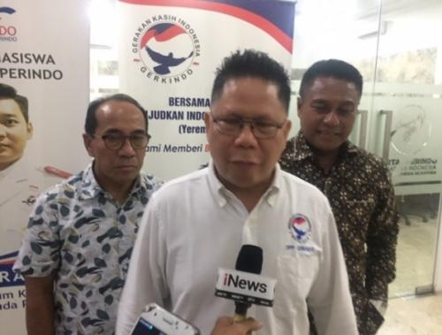 Ketua Umum DPP Gerkindo, Efraim Yerry Tawalujan (Foto : Harits Tryan Akhmad/Okezone)
