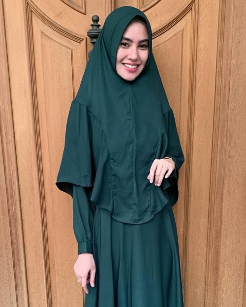 kartika putri hijab hijau