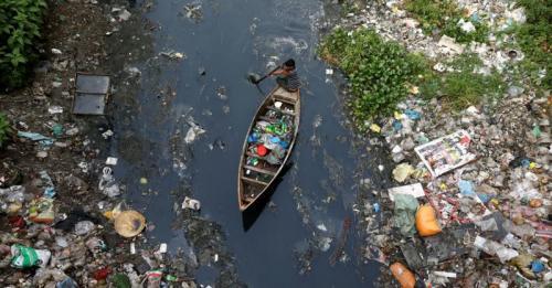 Sungai-Sungai di Dunia Tercemar Sampah Antibiotik