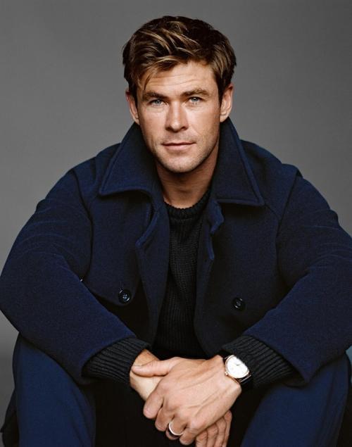 Proses Chris Hemsworth menjadi Thor. (Foto: GQ Magazine)