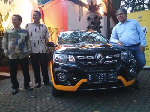 Jajaran Direksi Maxindo Renault Indonesia