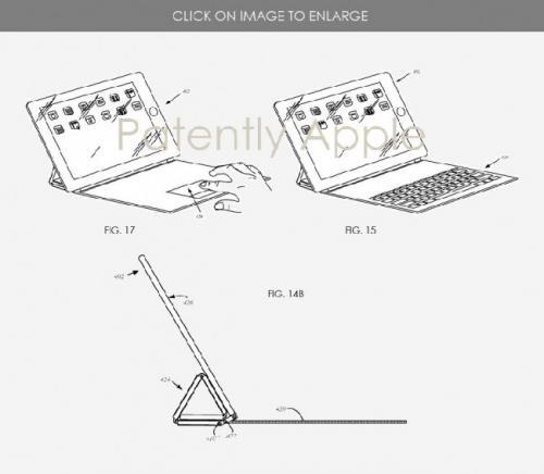 Smart Keyboard milik Apple bersama dengan paten ponsel lipat