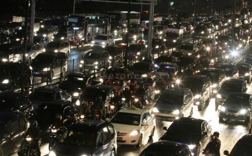 Kemacetan di libur akhir tahun