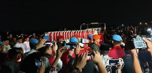 Jenazah Ibu Ani Yudhoyono.