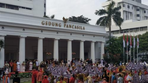 Jokowi. (Foto: Fakhrizal Fakhri/Okezone)