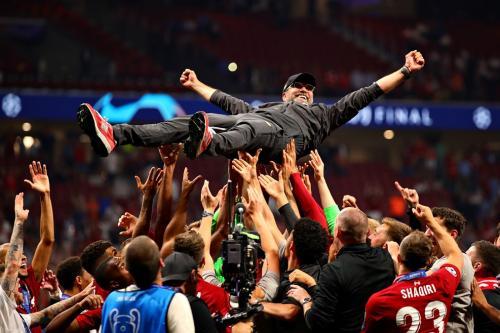 Klopp saat bawa Liverpool juarai Liga Champions 2018-2019