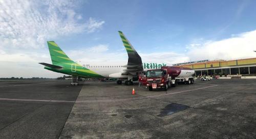 Pengisian Avtur Pesawat