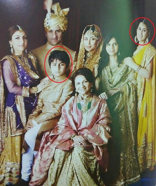 Dalam foto lawas tersebut, terlihat Sara dan Ibrahim Ali Khan, dua anak Saif Ali Khan dari istri pertamanya. (Foto: Instagram)