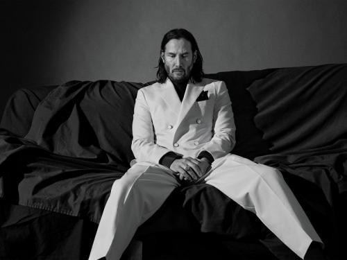 Belum ada informasi detail terkait karakter apa yang ditawarkan Marvel untuk Keanu Reeves dalam The Eternals. (Foto: GQ Magazine)