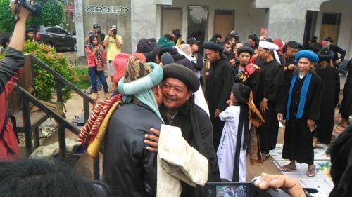 jamaah an-nadzir di Gowa, Sulsel. (Foto : Herman Amiruddin/Okezone)