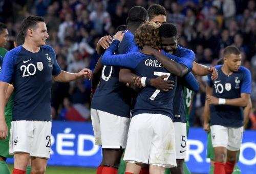 Para pemain Timnas Prancis