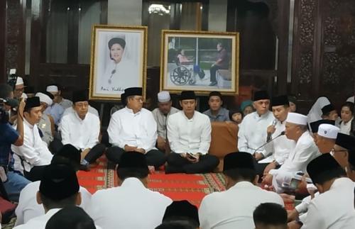Tahlilan almarhumah Ani Yudhoyono di Rumah SBY