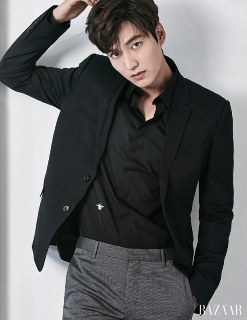 Woo Do Hwan akan berperan sebagai pengawal Lee Min Ho dalam The King: The Eternal Monarch. (Foto: Harper's Bazaar)