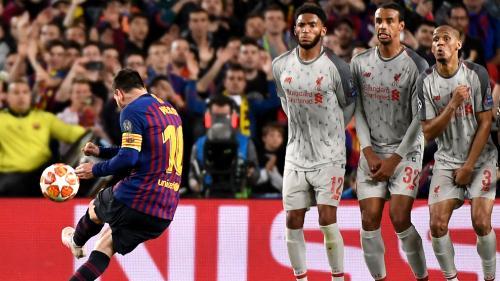 Lionel Messi cetak 36 gol dari tendangan bebas (Foto: UEFA)