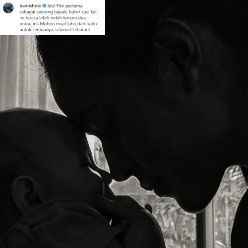 Hingga kini, Raisa dan Hamish Daud tetap menjaga privasi putri mereka dari publik. (Foto: Instagram)