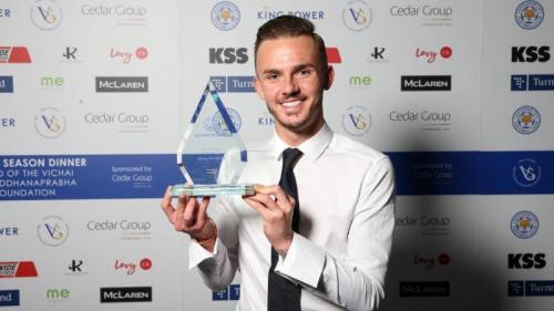 James Maddison diganjar gelar pemain muda terbaik Leicester City 2018-2019