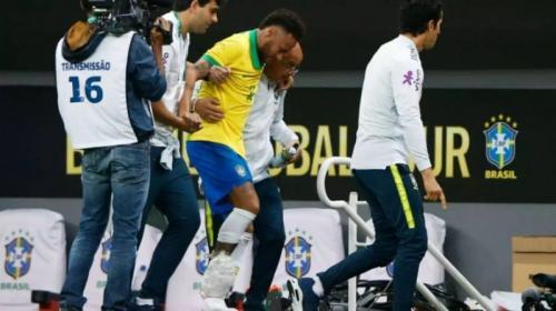 Neymar Jr cedera sehingga tidak ikut Copa America 2019 (Foto: Goal)
