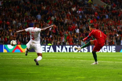 Portugal vs Swiss (Foto: UEFA)