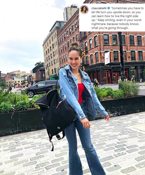 Cinta Laura bersiap melanjutkan kariernya di dunia hiburan setelah kasus foto syur. (Foto: Instagram/@claurakiehl)