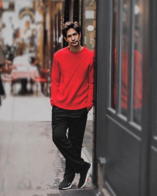 Dimas Beck mengaku sangat menikmati sepinya Jakarta saat Lebaran yang menurutnya merupakan momen langka. (Foto: Instagram)