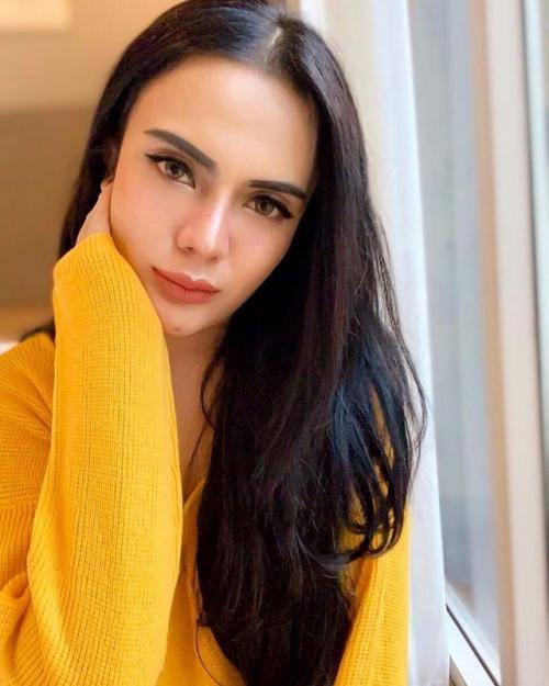 Anggita Sari akhirnya mengakui bahwa hubungannya dengan mantan suami Ayu Ting Ting hanyalah rekayasa semata. (Foto: Instagram)