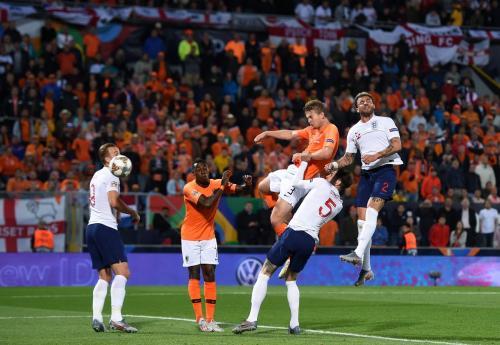 Belanda vs Inggris (Foto: UEFA)