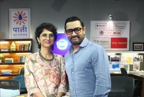 Seperti Saif Ali Khan, Aamir Khan juga menikah dua kali dengan perempuan Hindu. (Foto: Instagram)