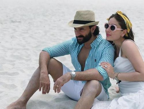 Saif Ali Khan menikah dua kali dan dua-duanya dengan perempuan Hindu. (Foto: Instagram)