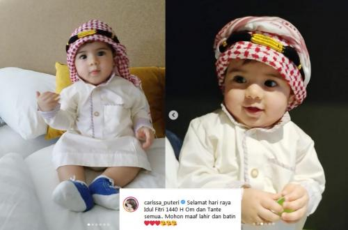 Intip Potret Menggemaskan Anak Carissa Puteri Saat Pakai Baju Lebaran Okezone Celebrity