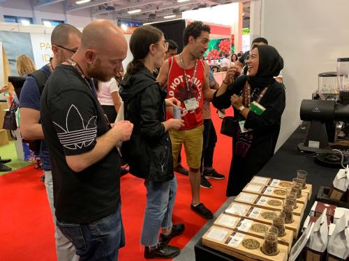 World of Coffee 2019 di Berlin telah diikuti lebih dari 300 peserta pameran dan dihadiri sekitar 10.000 pengunjung.