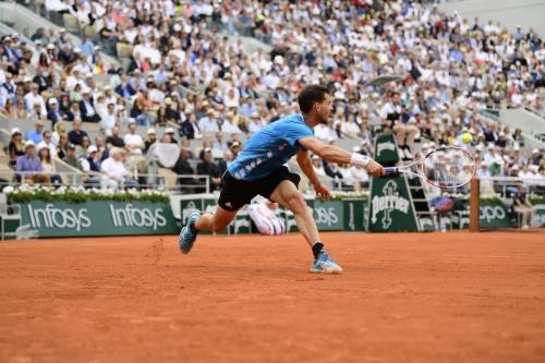 Dominic Thiem sulit menaklukkan Rafael Nadal (Foto: Roland Garros/Twitter)