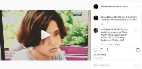 Instagram Ahmad Dhani