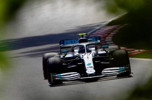Valtteri Bottas saat balapan di GP Kanada