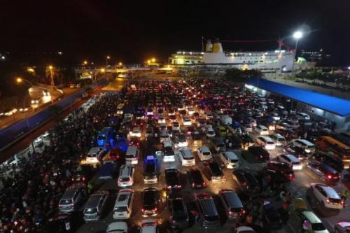 Pelabuhan Bakauheni. (Foto: Ardiansyah/Okezone)