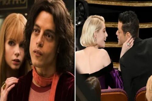 Tokoh film Bohemian Rhapsody, Freddie Mercury dan Mary Austin terlibat cinta lokasi