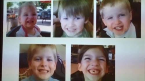 Jones berkeliling tanpa tujuan selama sembilan hari dengan tubuh anak-anak di mobilnya (CBS)