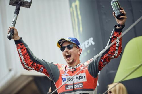 Jorge Lorenzo saat masih berseragam Ducati