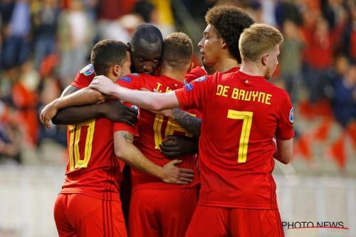 Laga Timnas Belgia vs Skotlandia
