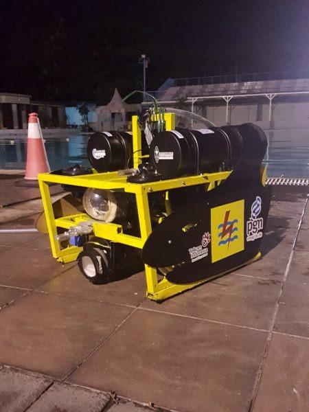 Robot bawah laut buatan mahasiswa UI